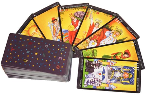 Выбор колоды Таро, выбор карт такро