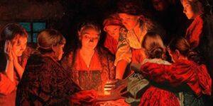 Гадания на Рождество святочные гадания