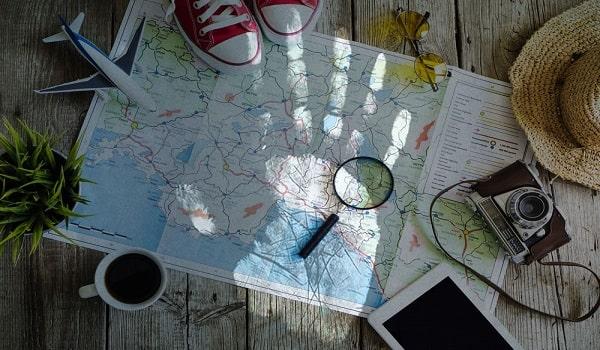 путешествия и переезды хиромантия